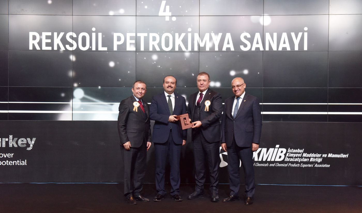 Reksoil received two awards at the Stars of Export Award Ceremony