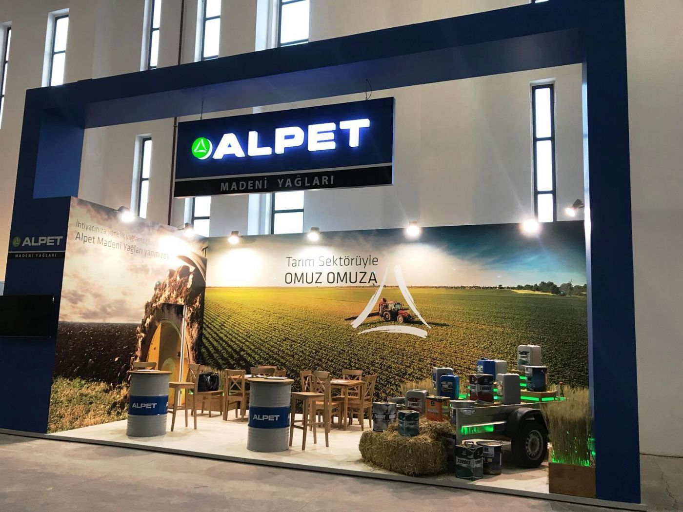 Alpet Lubricants participates in AgroExpo