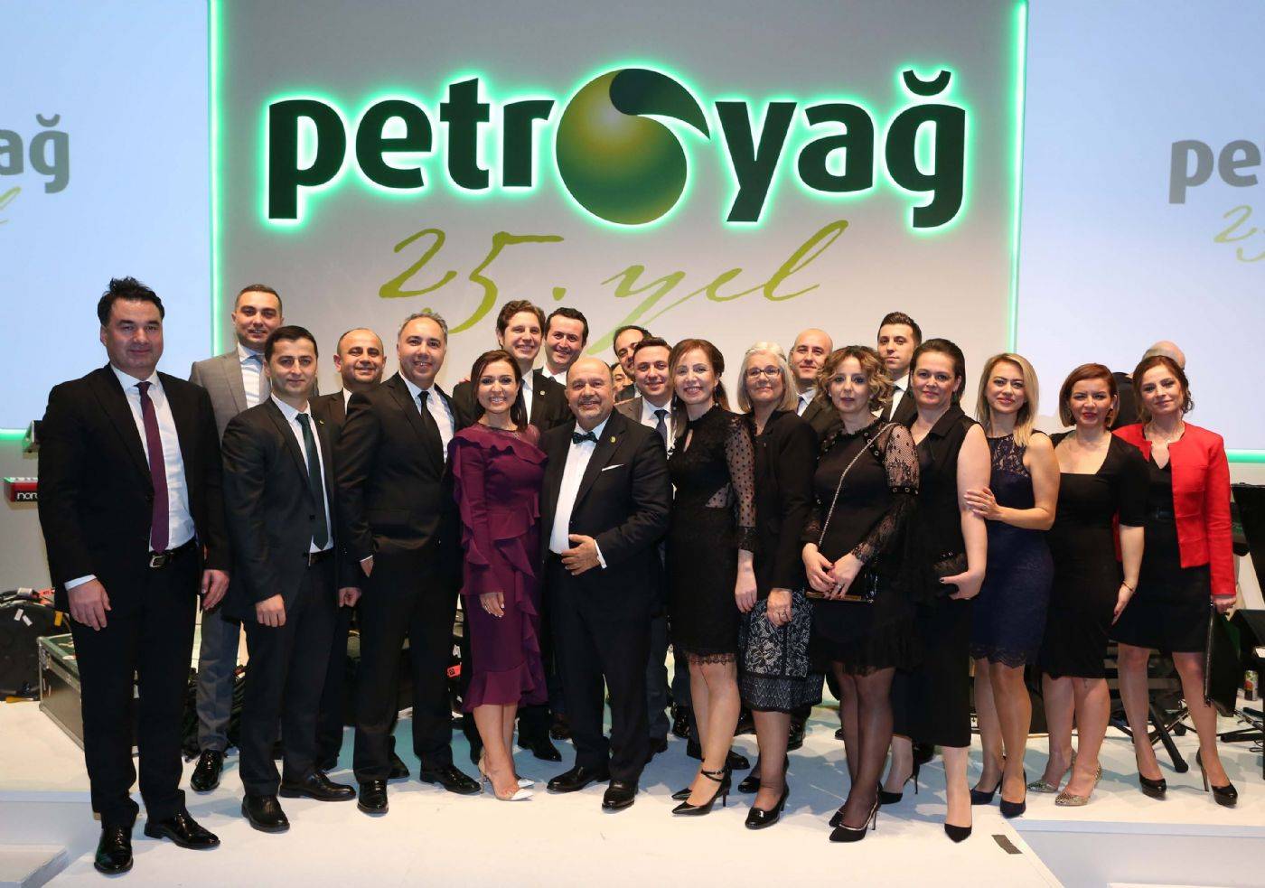 Petroyağ celebrates 25th anniversary with a glorious ceremony