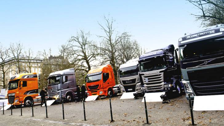 Commercial vehicle registrations in EU declined in March