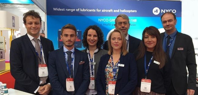 NYCO attended MRO Europe, premier aviation event of the region