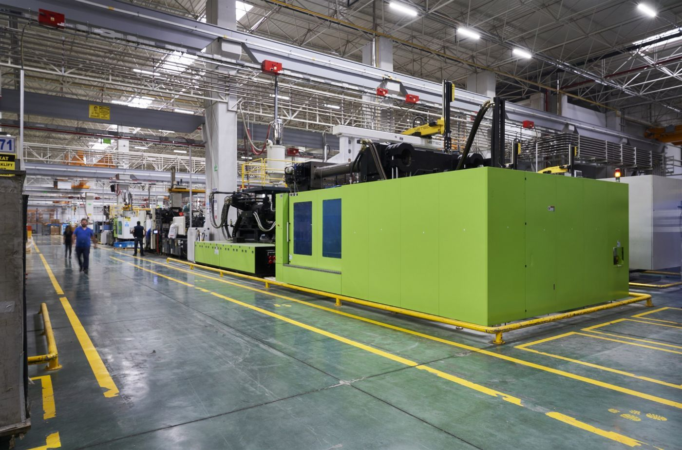 Increase energy efficiency in injection molding up to 6-8 percent