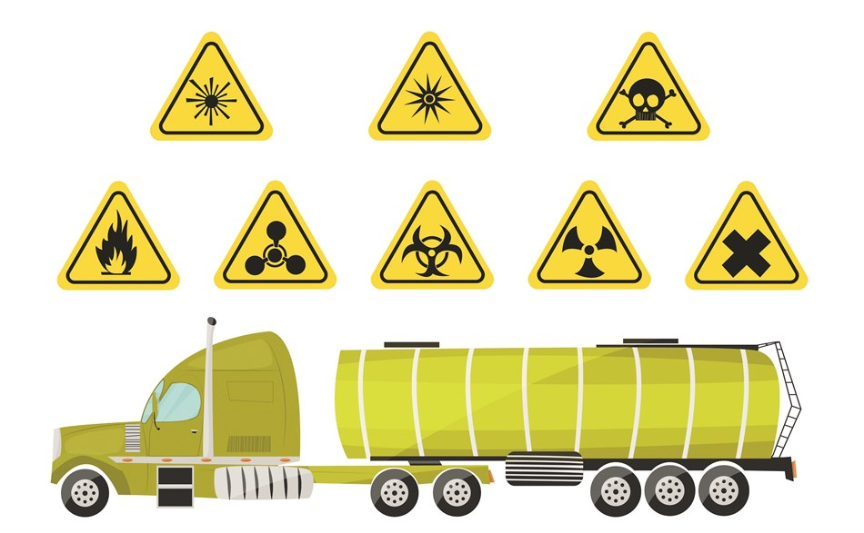 """Transport of dangerous goods requires expertise"""