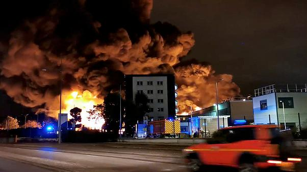 Fire at Lubrizol's Rouen factory contained