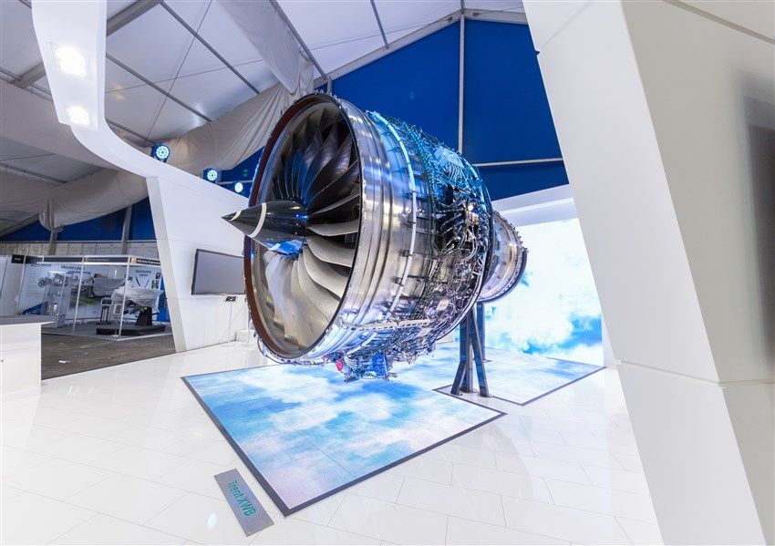 Emirates selects Rolls-Royce Trent XWB engines for its Airbus A350 fleet