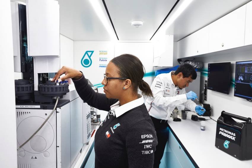 Petronas Track Lab contributes to the world of motorsports